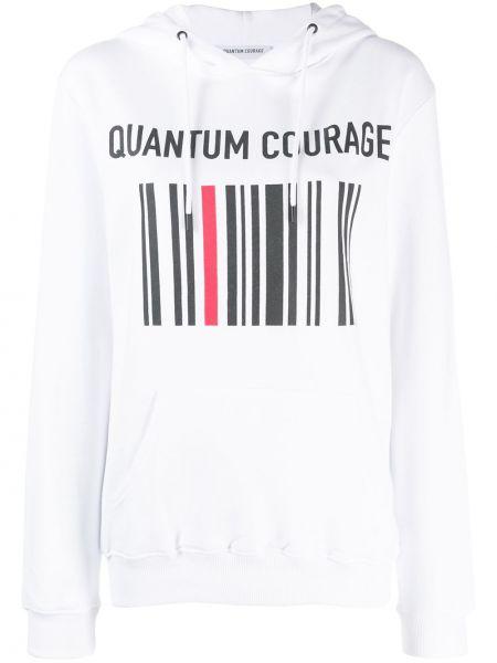 Топ с капюшоном в рубчик Quantum Courage