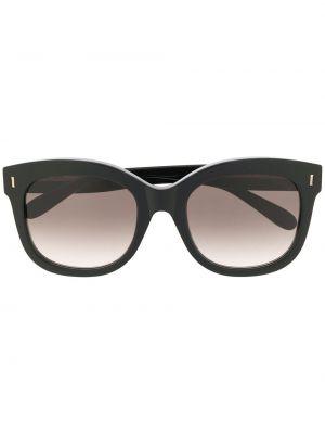 Złote czarne okulary Mulberry