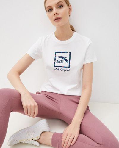 Спортивная футболка - белая Anta