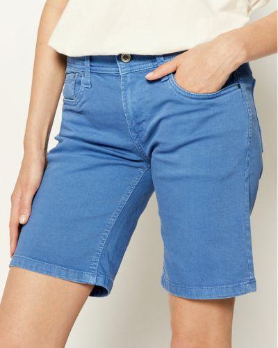 Szorty jeansowe - niebieskie Pepe Jeans