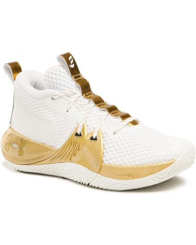 Sneakersy - białe Under Armour