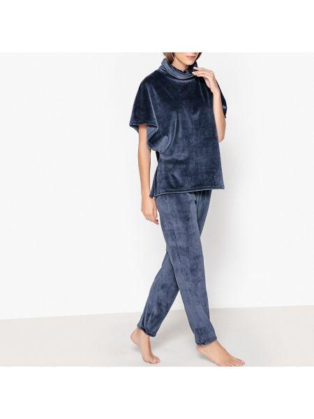 Пижама с брюками пижамный с отворотом La Redoute Collections