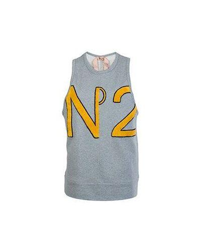 Хлопковый топ - серый No.21