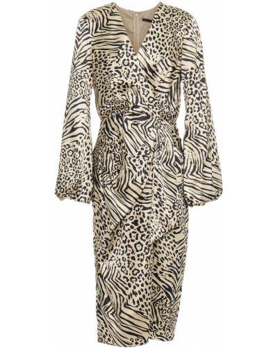 Плиссированное платье с подкладкой на крючках Jay Godfrey
