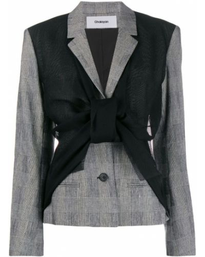 Черная куртка Chalayan