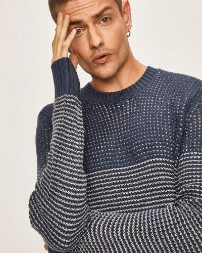 Sweter z wzorem z dzianiny Only & Sons