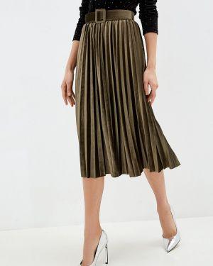 Платье плиссированное осеннее Glam Goddess