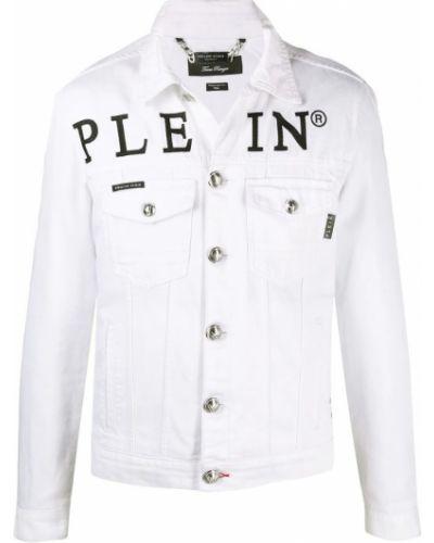 Biała kurtka casual Philipp Plein