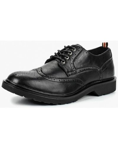 Туфли черные из искусственной кожи Piazza Italia