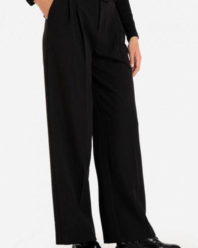Черные зимние брюки Gloria Jeans