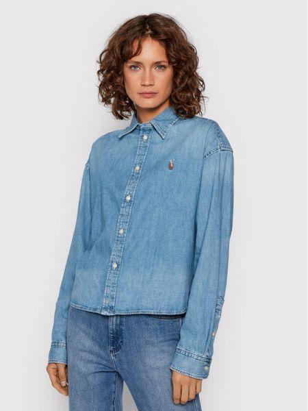 Koszula jeansowa - niebieska Polo Ralph Lauren