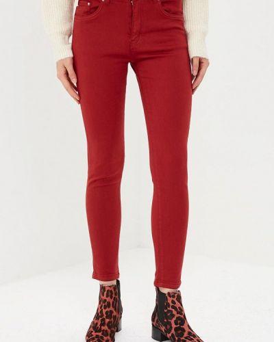 Красные брюки повседневные Regular