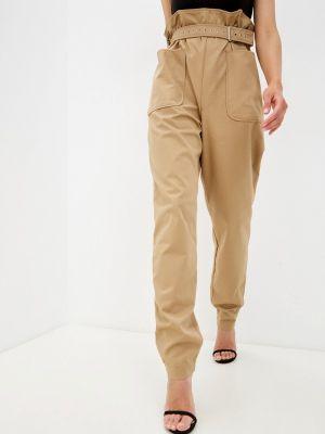 Бежевые повседневные брюки Theone By Svetlana Ermak