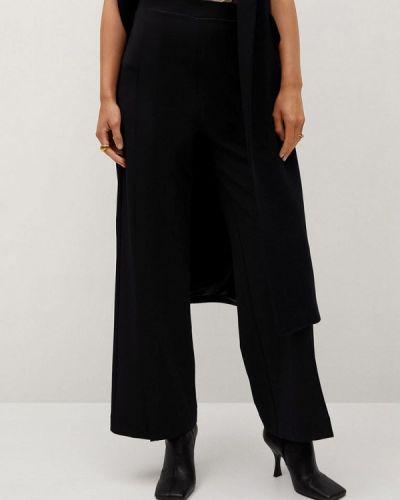 Классические черные классические брюки Mango