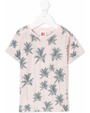 Розовая футболка American Outfitters Kids
