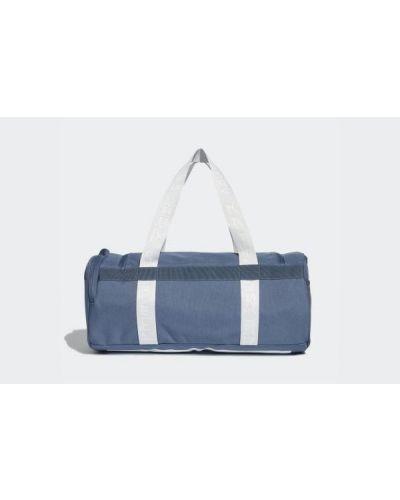 Niebieska torebka materiałowa Adidas