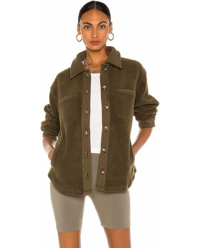 Куртка винтажная - зеленая Heartloom