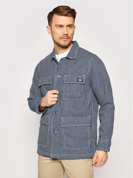 Kurtka jeansowa - granatowa Dickies