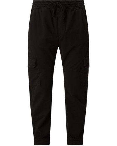 Czarne spodnie bawełniane miejskie Urban Classics