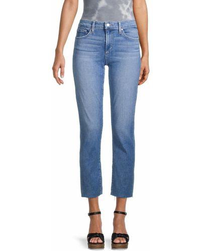 Синие хлопковые прямые джинсы Joe's Jeans