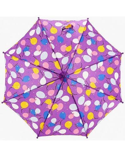Фиолетовый зонт-трость Zemsa