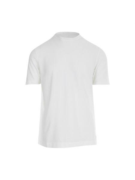 Biała t-shirt Zanone