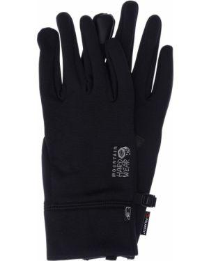 Czarne rękawiczki Mountain Hardwear