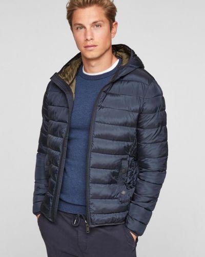 Куртка с капюшоном - синяя S.oliver