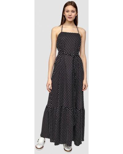 Черное платье весеннее Dolcedonna