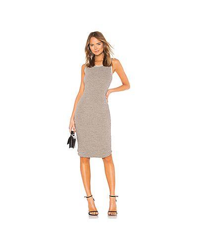 Платье шелковое платье-майка James Perse