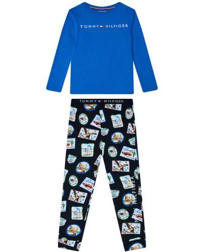Piżama z printem Tommy Hilfiger