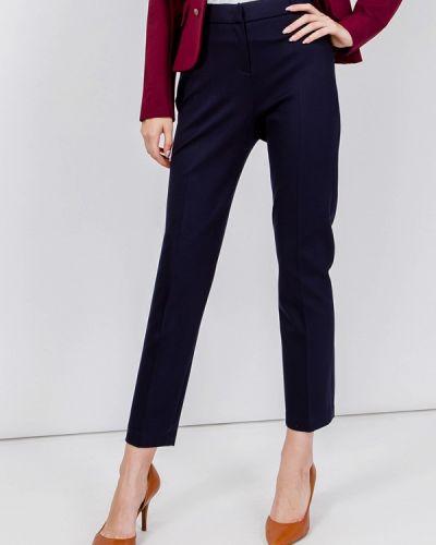 Классические брюки синие мадам т