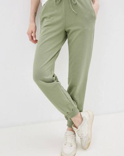 Зеленые спортивные брюки синар