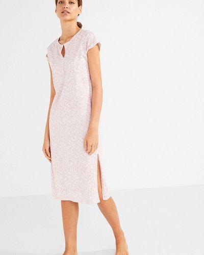 Платье осеннее розовое Women'secret