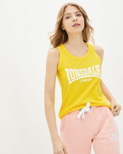 Желтый топ Lonsdale