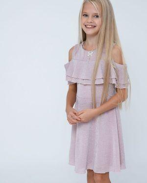 Платье с люрексом Zarina