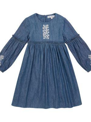 Джинсовое платье - синее Tartine Et Chocolat