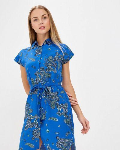 Синее платье осеннее Dorothy Perkins