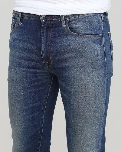 Зауженные джинсы - синие Franklin & Marshall