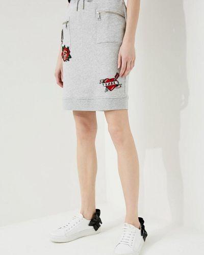 Серая юбка Karl Lagerfeld