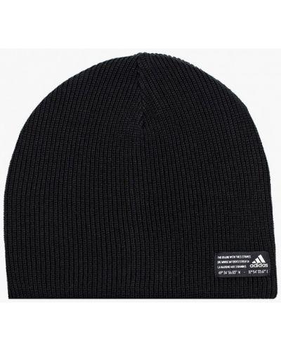Шапка - черная Adidas