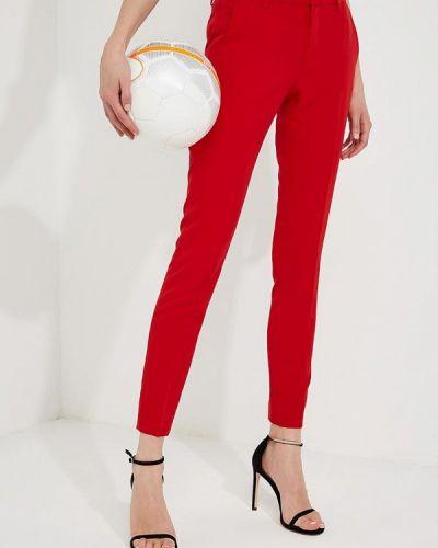 Красные брюки зауженные Liu Jo