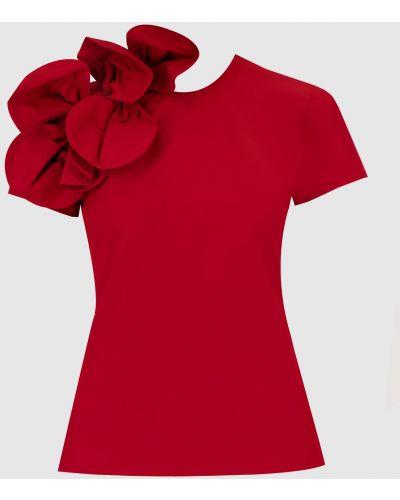 Красная блузка с бантом Red Valentino