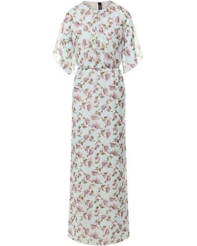Платье из вискозы - бирюзовое Poustovit