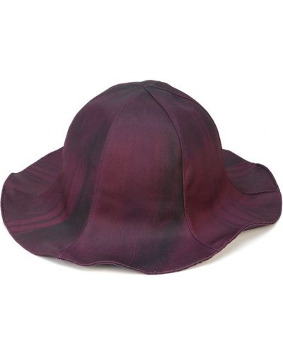 Fioletowy kapelusz Doublet