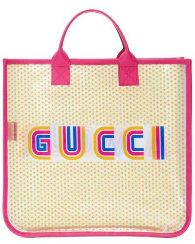 Сумка бежевый в горошек Gucci Kids