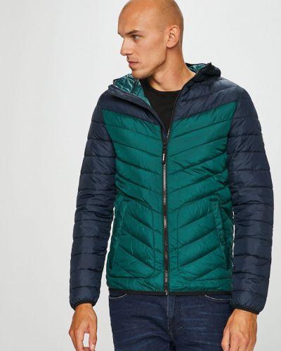 Джинсовая куртка утепленная с капюшоном Tom Tailor Denim