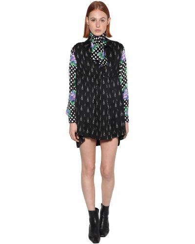 Платье с поясом на пуговицах платье-рубашка Balenciaga