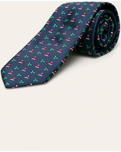 Krawat z wzorem czerwony Jack & Jones