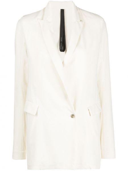 Шелковая куртка с манжетами на пуговицах узкого кроя Poème Bohémien